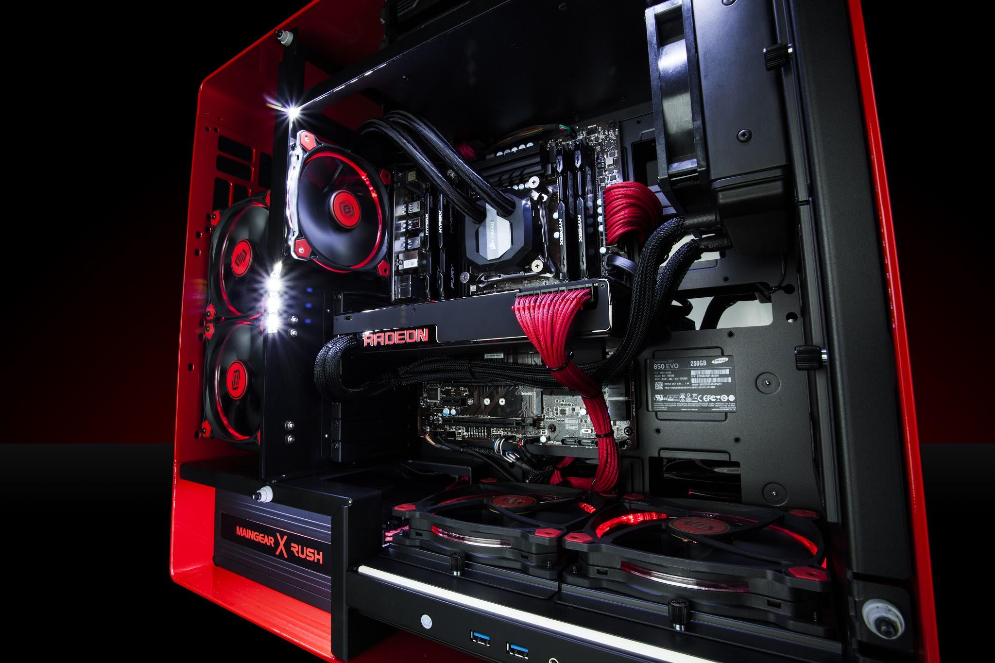 AMD Radeon chip.
