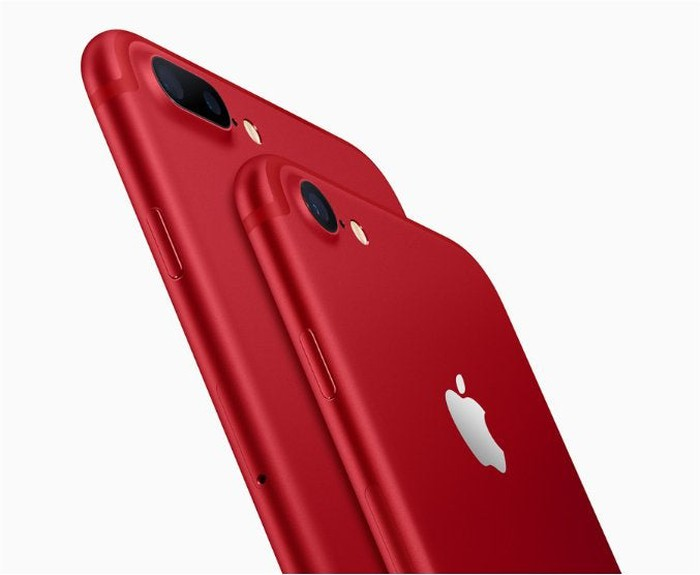 The special edition Project Red iPhone.