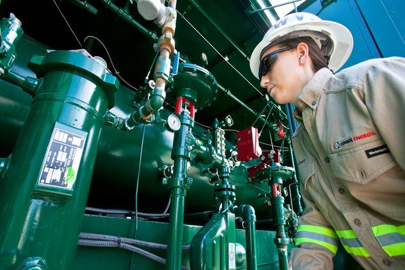 A CONSOL Energy employee.