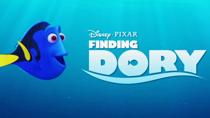 Theatrical poster for Finding Dory.