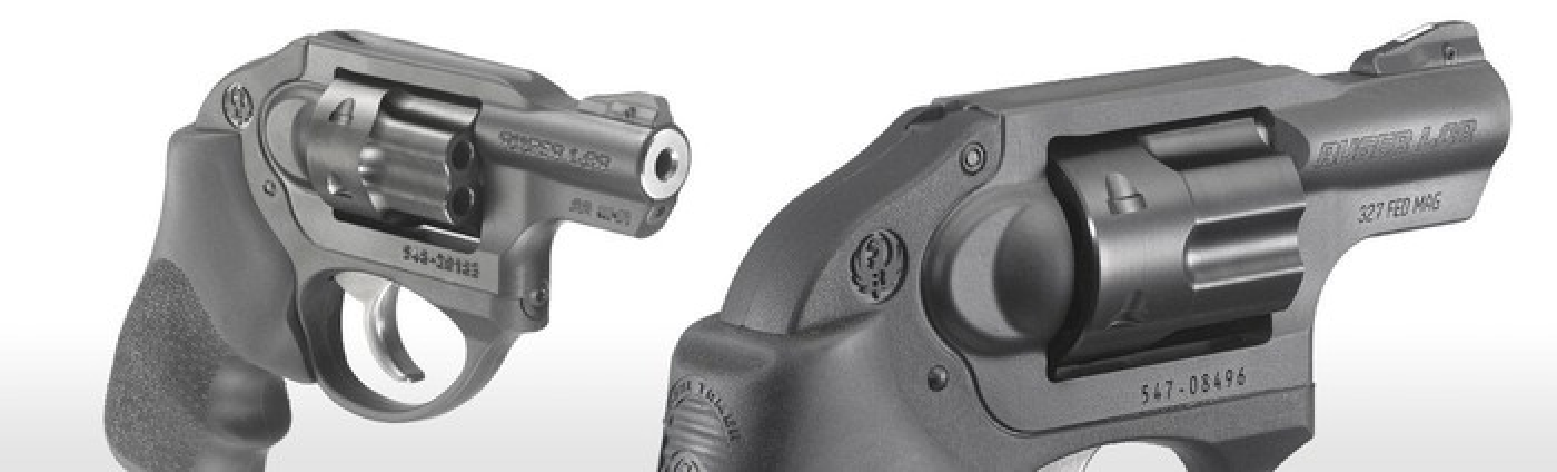 Sturm Ruger's popular LCR pistol.