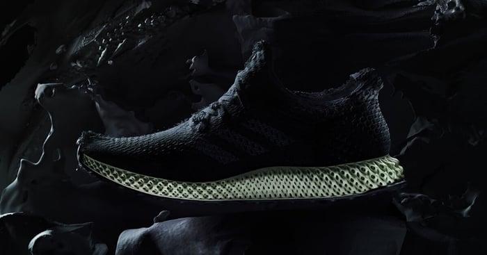 A Futurecraft 4D shoe.