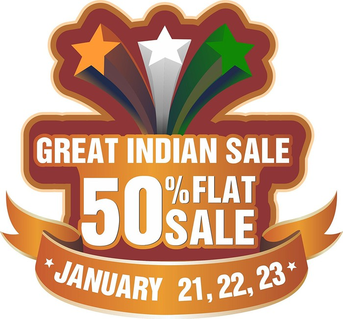 Promotion for Amazon India's big sale event