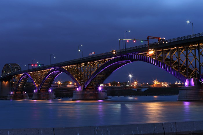 Buffalo, NY's Peace Bridge