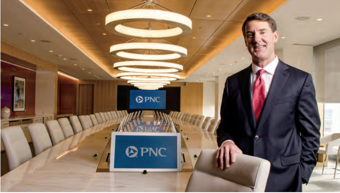 William Demchak, the chairman and CEO of PNC Financial.