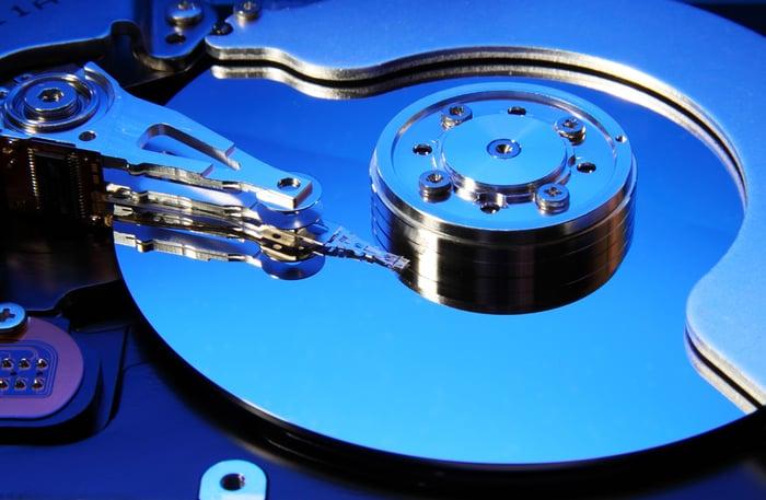 Hard disk drive.