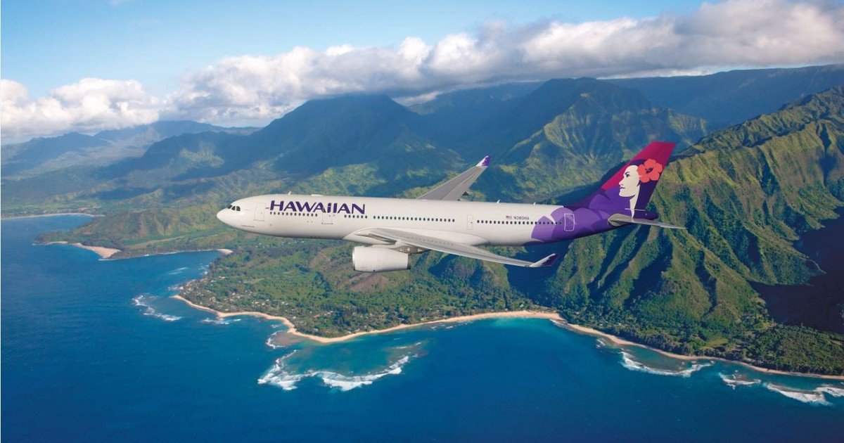 Hawaiian Airlines  - Magazine cover