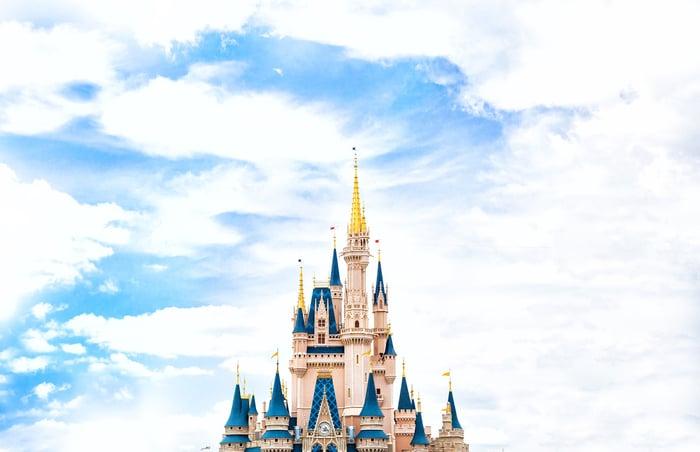 Walt Disney's Cinderella castle