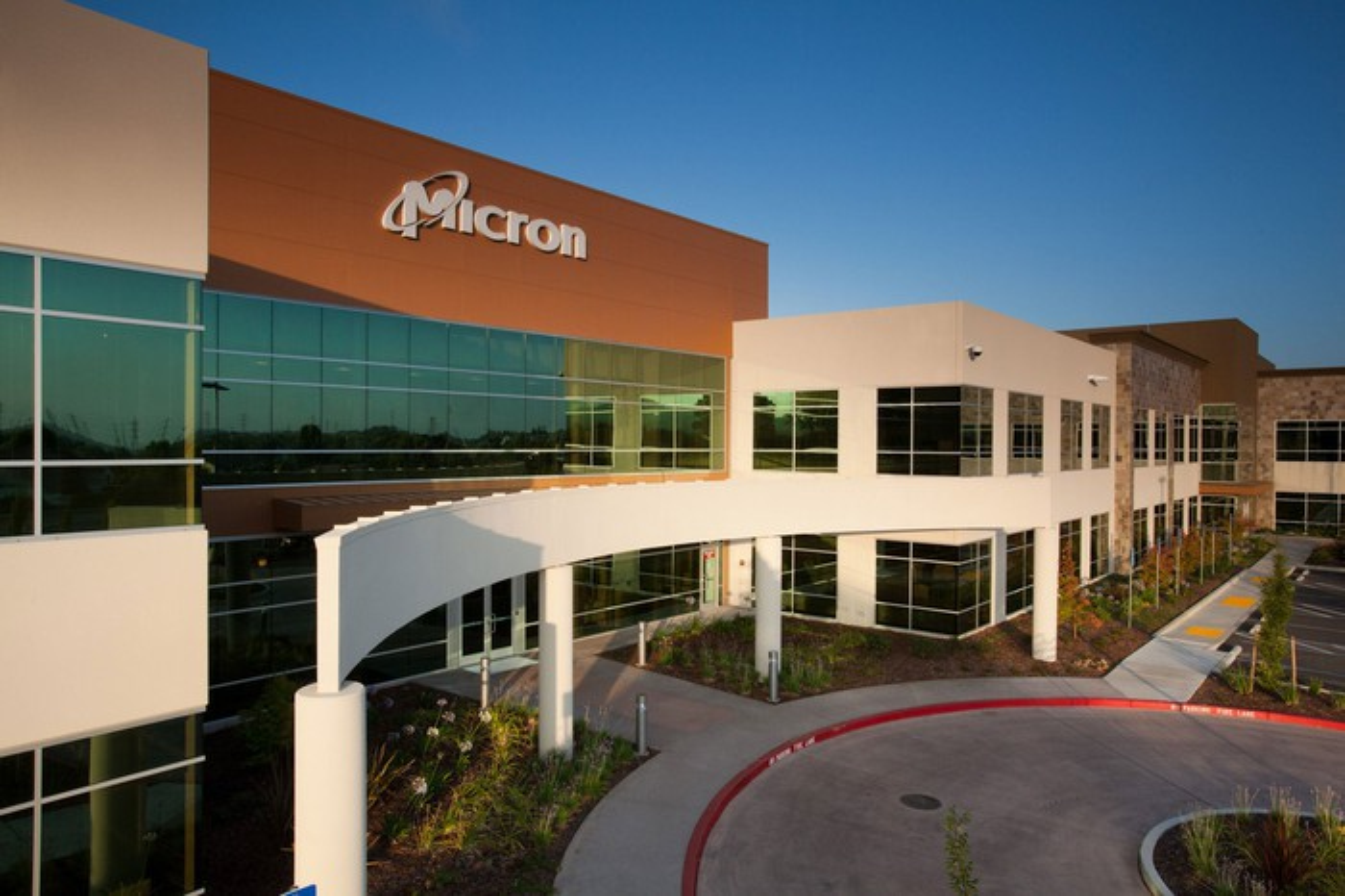 A Micron facility in Folsom, CA.
