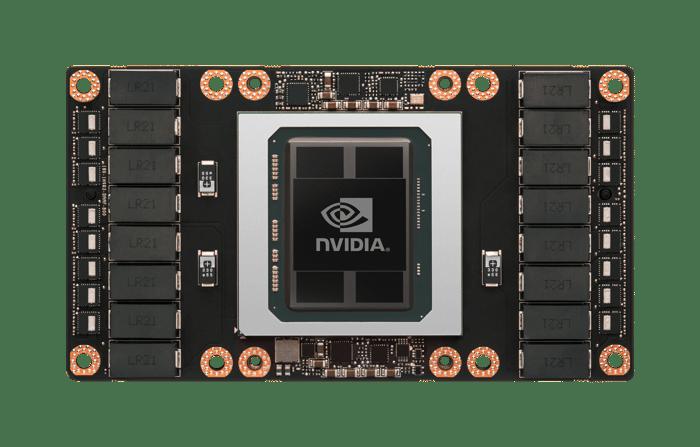 Tesla P100 chip.