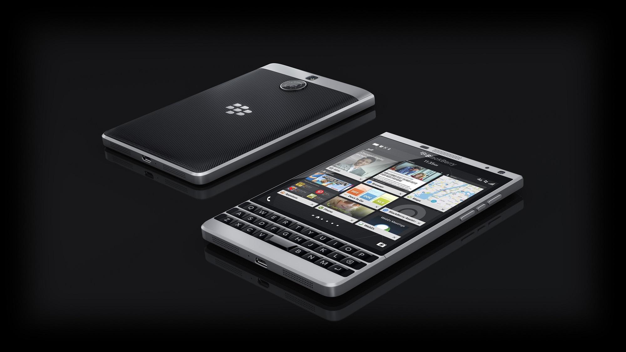 BlackBerry device.