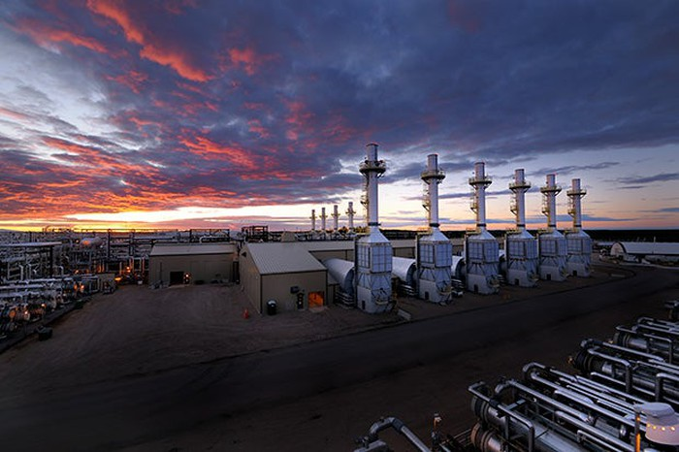 Cenovus's oil sands production facility.