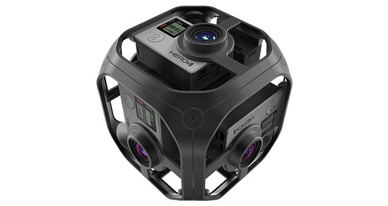 Image of GoPro's Omni rig.