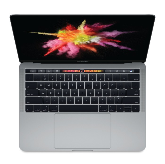 A view of Apple's recently launched MacBook Pro, one of the many products that makes Apple one of the best dividend stocks in the PC industry.