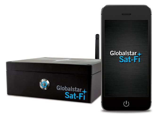 The Globalstar Sat-Fi device.