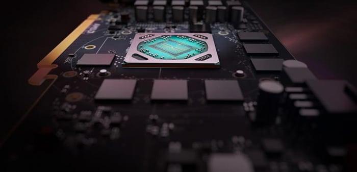 The Radeon RX 580.