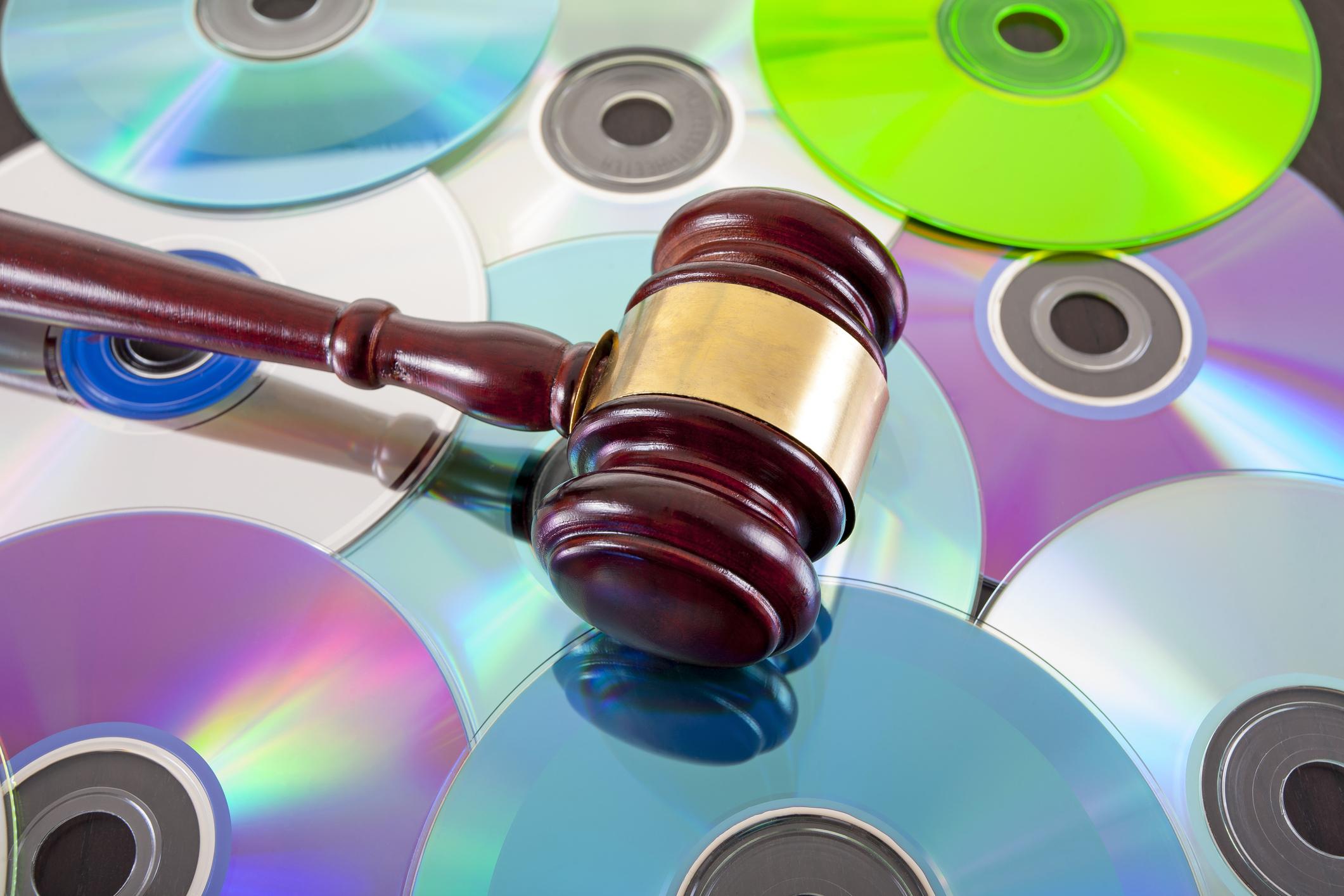 Music law concept.