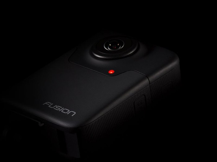 A cryptic image of GoPro's new product Fusion.