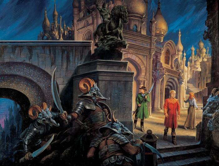 Cover art for The Fires of Heaven.