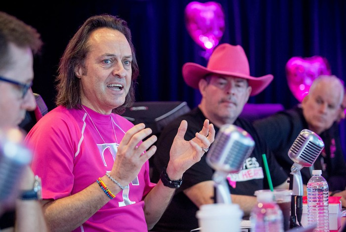 Picture of T-Mobile's management team