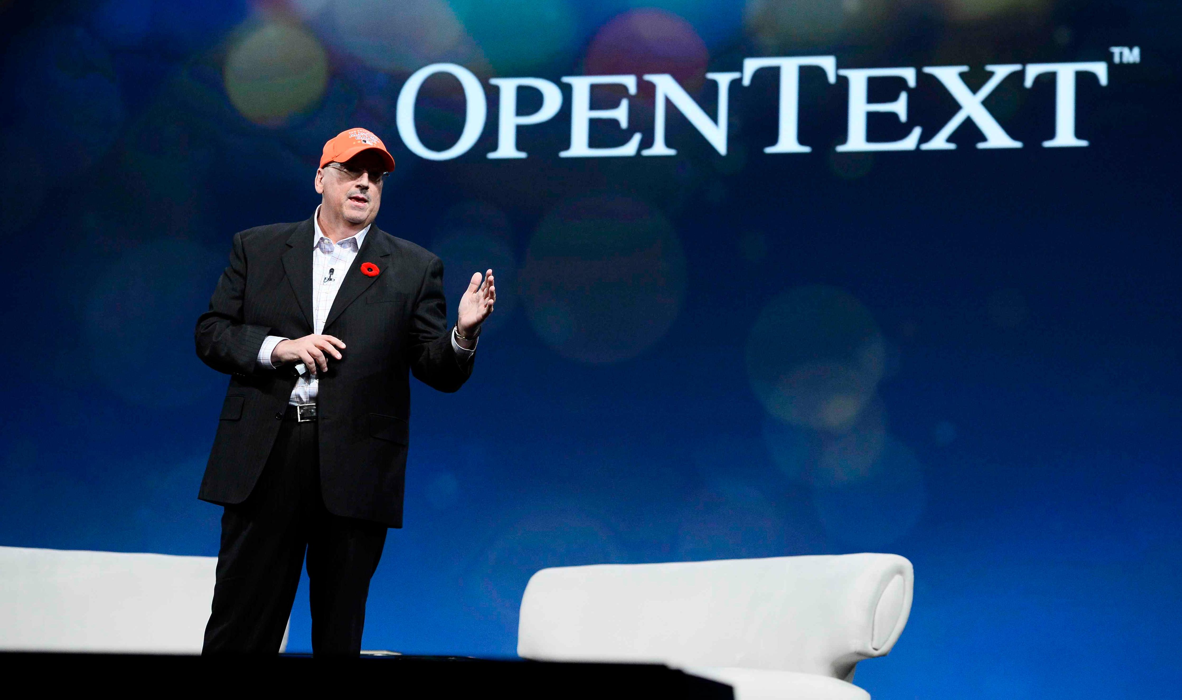 OpenText CEO Mark Barrenechea.