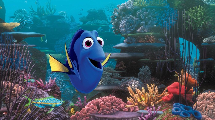 """A scene from Disney's """"Finding Dory""""."""
