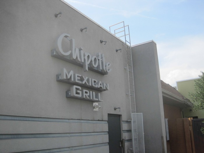 The exterior of a Chipotle Mexican Grill