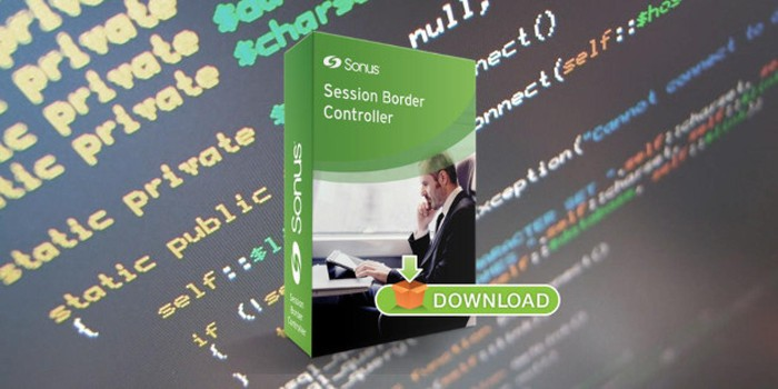 A box that contains the downloadable software for Sonus SBC SWe session border controller.