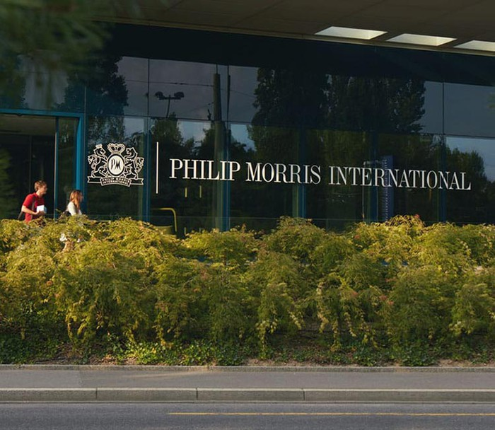 Philip Morris International operations center in Lausanne, Switzerland.