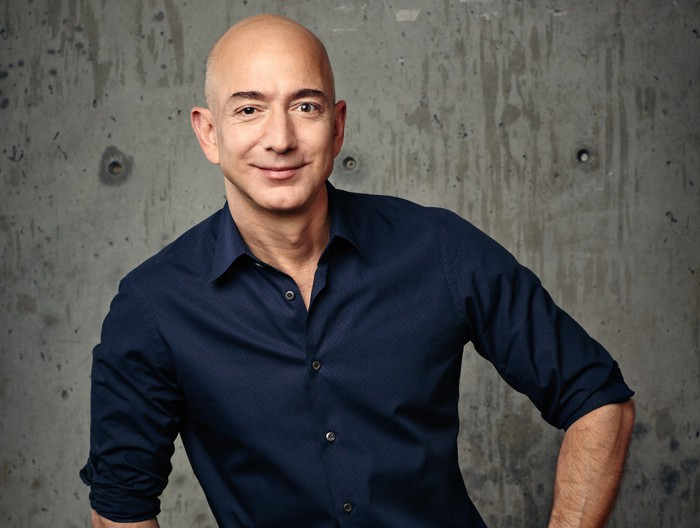 Picture of Amazon CEO Jeff Bezos.
