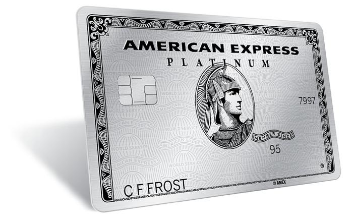 Amex Platinum charge card.