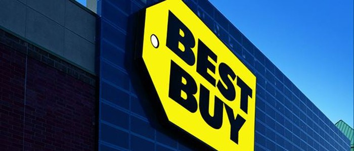 Best Buy logo.