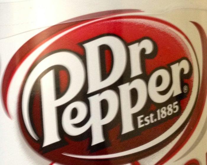 The Dr Pepper logo
