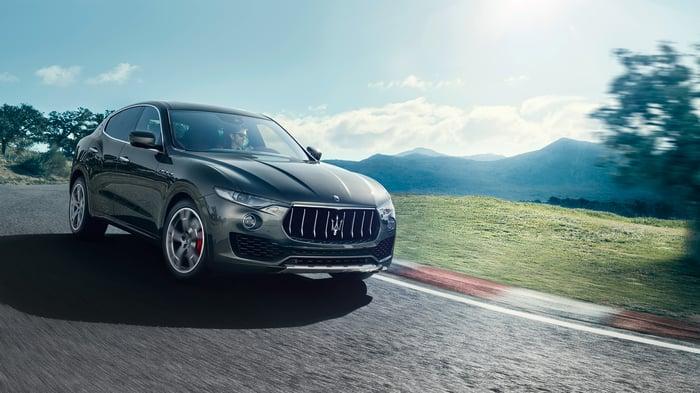 A Maserati Levante SUV