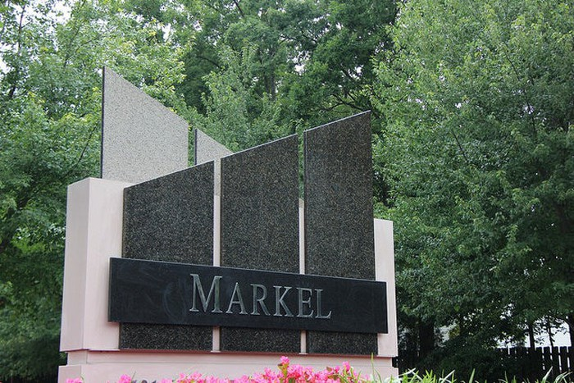 Markel headquarters sign