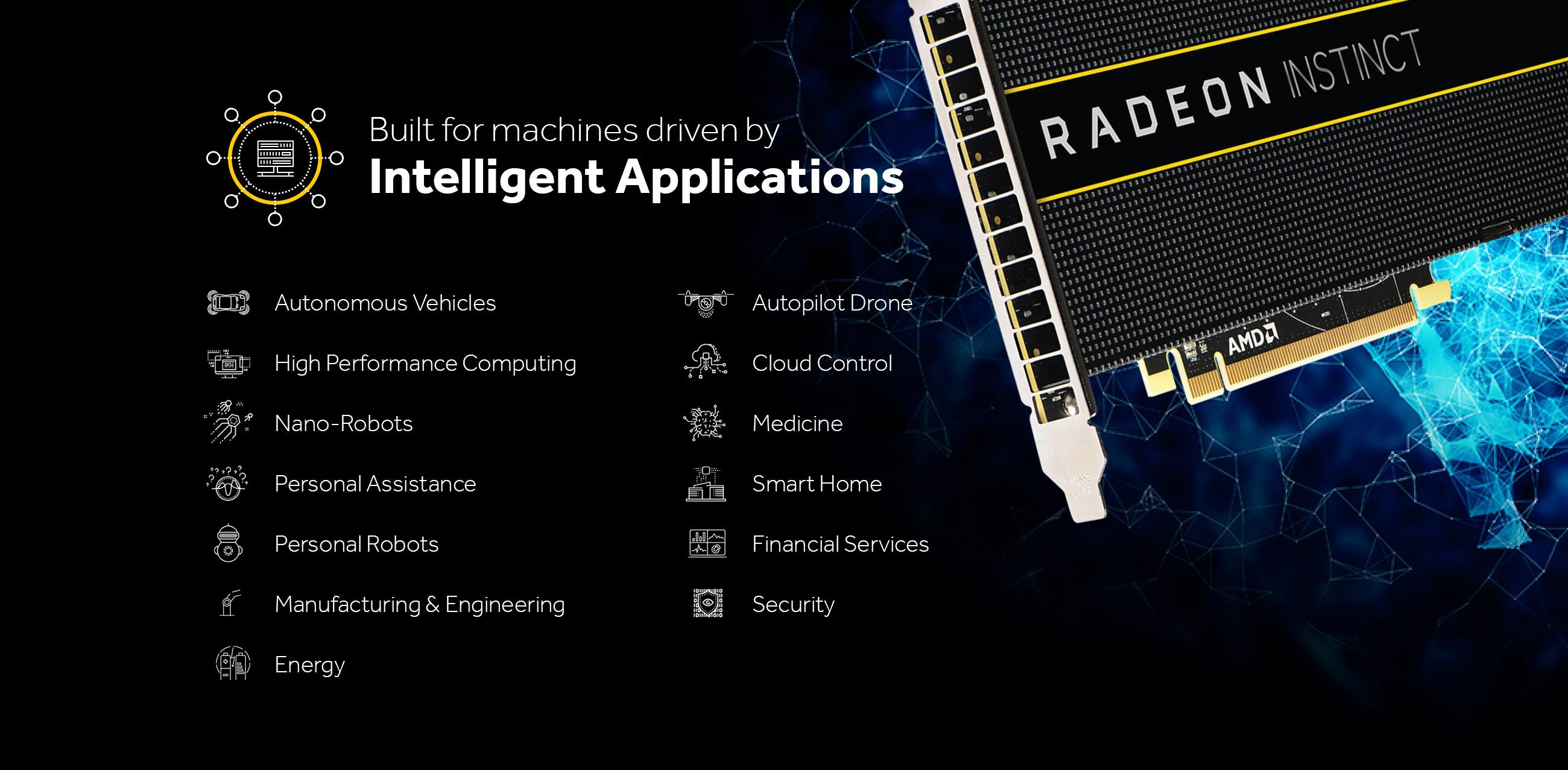 AMD Radeon Instinct GPU.