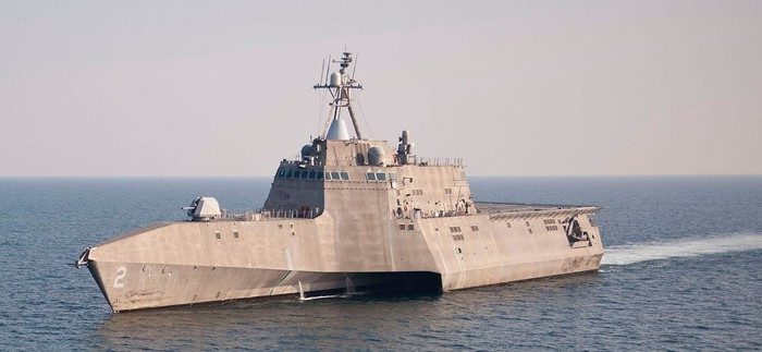 USS Independence (LCS 2).