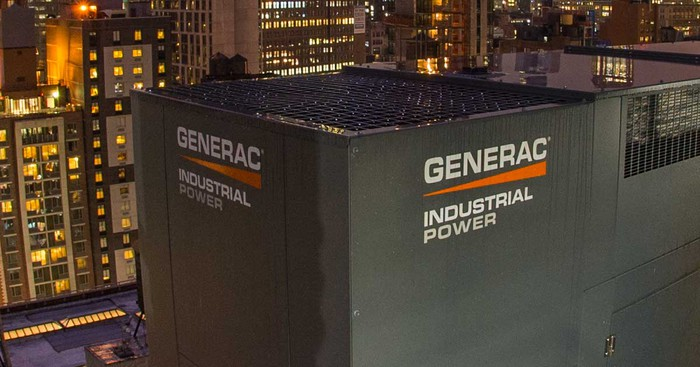 Industrial generator from Generac.