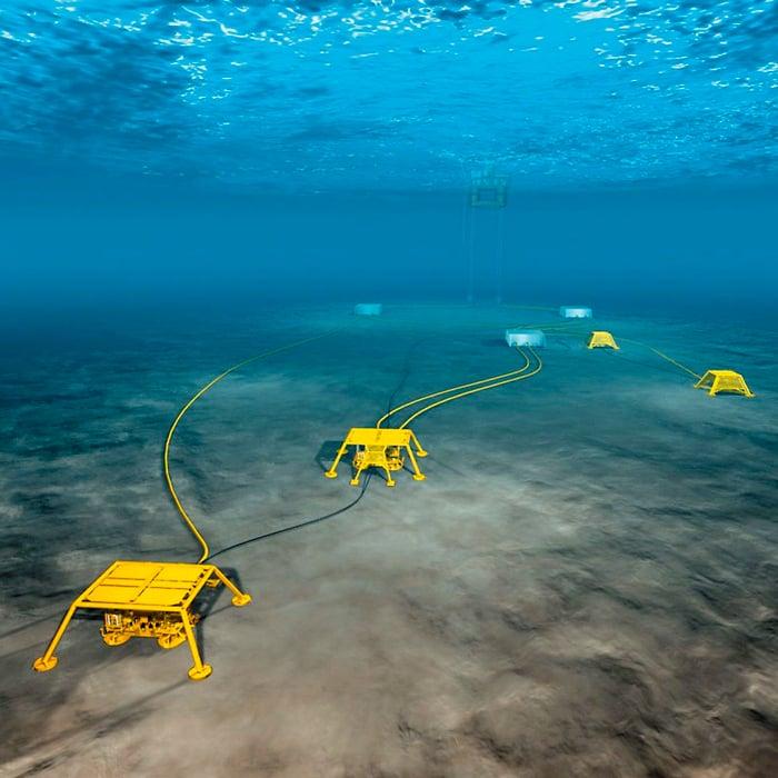 Undersea sensing system.