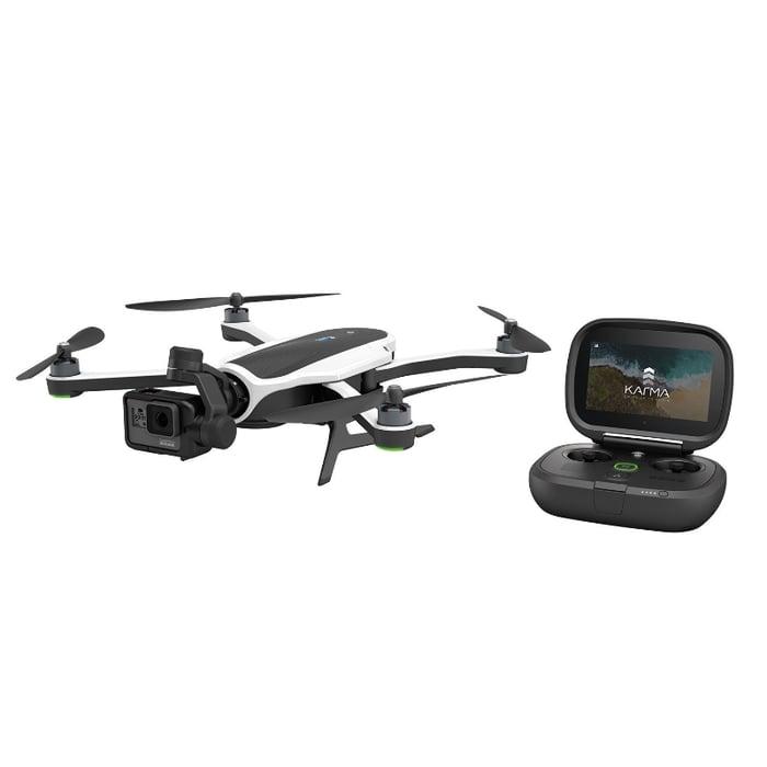 Karma drone with remote.