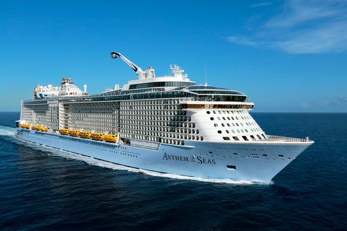 Royal Caribbean cruise ship.