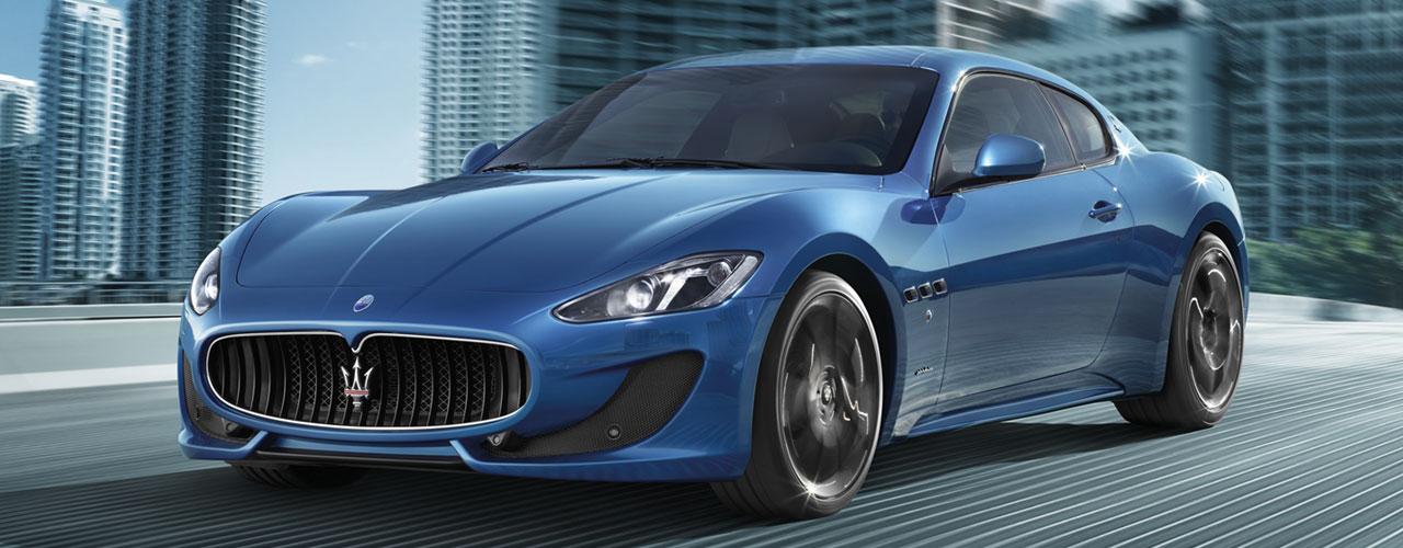 A Maserati Granturismo.