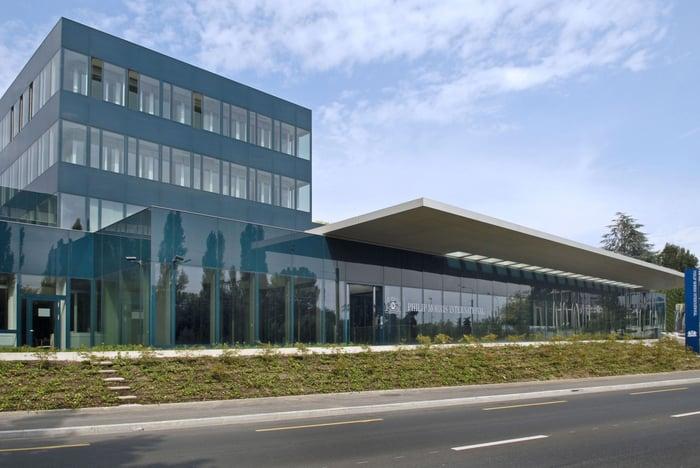 Lausanne building for Philip Morris.