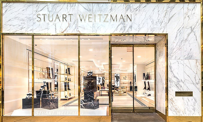 A Stuart Weitzman store