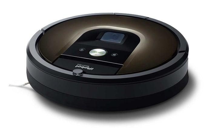 iRobot's Roomba 980 vacuum.