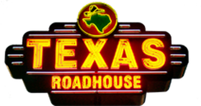 A Texas Roadhouse sign