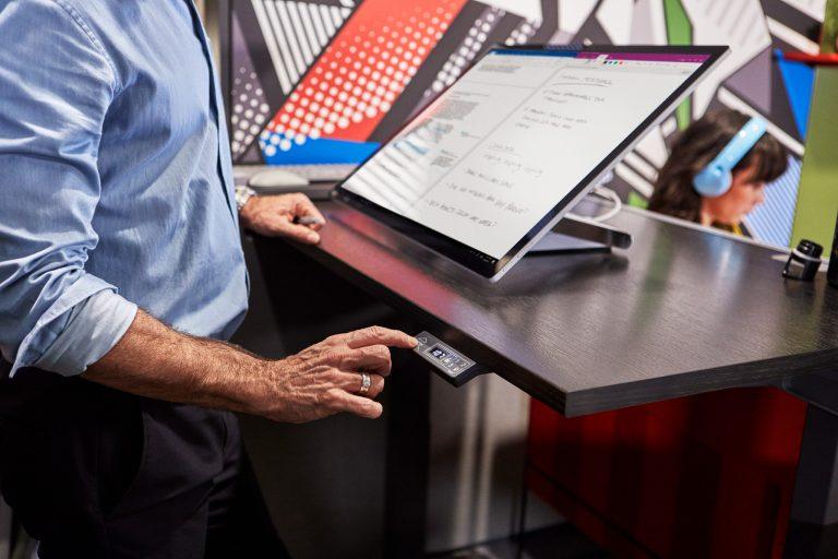 Microsoft's Surface Studio.