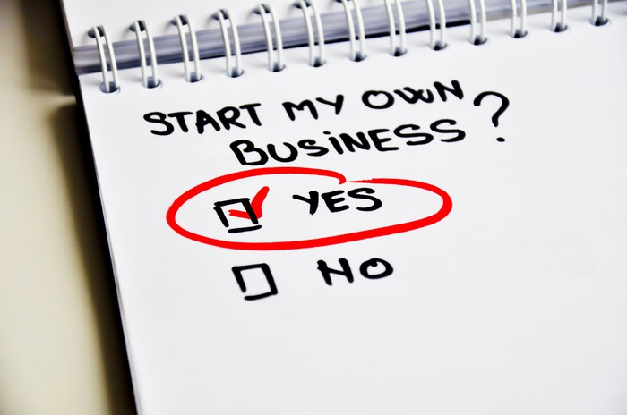Start my own business? Yes