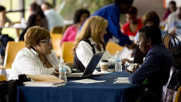 Ocwen representative working with mortgage borrower.