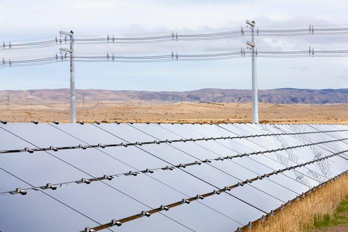Solar farm from First Solar.
